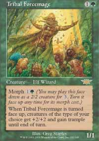 Magic the Gathering Legions Single Tribal Forcemage - NEAR MINT (NM)