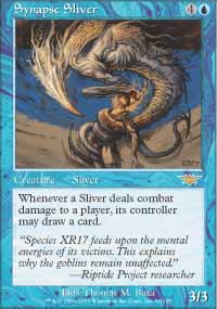 Magic the Gathering Legions Single Synapse Sliver UNPLAYED (NM/MT)