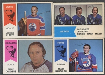 1974/75 O-Pee-Chee WHA Hockey Complete Set (NM-MT)