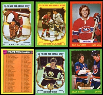 1973/74 Topps Hockey Complete Set (NM-MT)