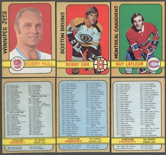 1972/73 O-Pee-Chee Hockey Complete Set (NM-MT)