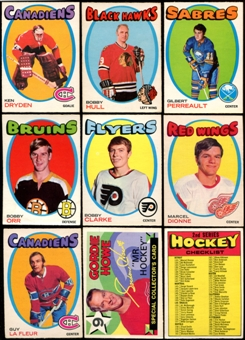 1971/72 O-Pee-Chee Hockey Complete Set (NM-MT)