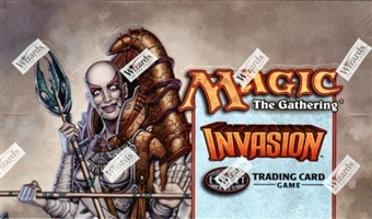 Magic the Gathering Invasion Tournament Starter Deck Box