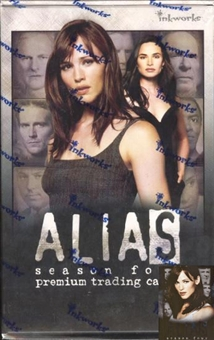 Alias Season 4 Hobby Box (2005 Inkworks)