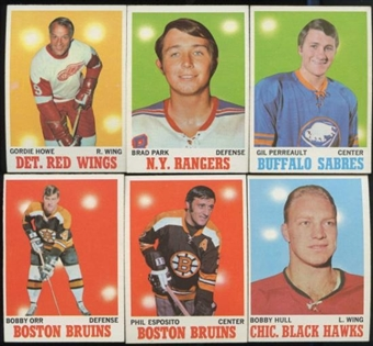 1970/71 Topps Hockey Complete Set (NM-MT)