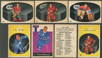 1962/63 Parkhurst Hockey Complete Set (NM)