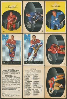1962/63 Parkhurst Hockey Complete Set (VG)