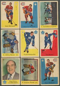 1959/60 Parkhurst Hockey Complete Set (VG)