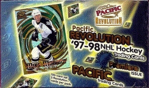 1997/98 Pacific Revolution Hockey Hobby Box