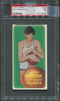 1970/71 Topps Basketball Complete Set (NM)