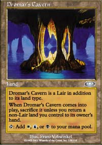 Magic the Gathering Planeshift Single Dromar's Cavern 4x Lot - NEAR MINT (NM)