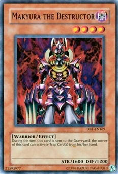 Yu-Gi-Oh Dark Beginning Single Makyura The Destructor Super Rare (DB1-169)
