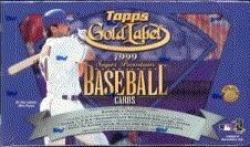 1999 Topps Gold Label Baseball Hobby Box