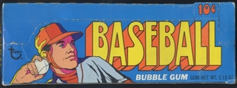 1972 Topps Series 3 Baseball Wax Box