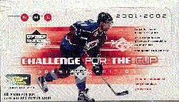 2001/02 Upper Deck Challenge For The Cup Hockey Hobby Box