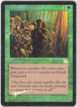 Magic the Gathering Onslaught Single Elvish Vanguard FOIL