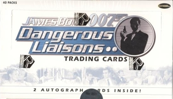 James Bond 007 Dangerous Liaisons Trading Cards Box (Rittenhouse 2006)