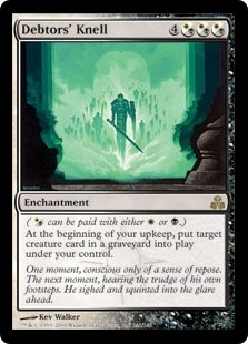 Magic the Gathering Guildpact Single Debtors' Knell - NEAR MINT (NM)