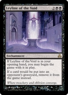 Magic the Gathering Guildpact Single Leyline of the Void - SLIGHT PLAY (SP)