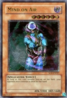 Yu-Gi-Oh Soul of the Duelist Single Mind On Air Ultimate Rare (027)