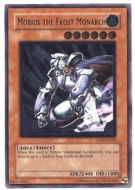 Yu-Gi-Oh Soul of the Duelist Single Mobius Frost Monarch Ultimate Rare