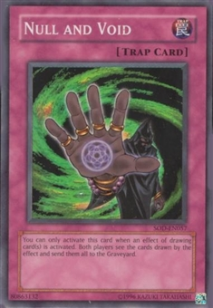 Yu-Gi-Oh Soul of the Duelist Single Null And Void Super Rare (057)