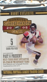2005 Donruss Gridiron Gear Football Base Set (NM-MT)