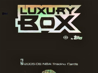 2005/06 Topps Luxury Box Basketball Hobby Box