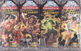 WizKids HeroClix DC Collateral Damage Booster Brick (12 Ct)