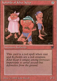 Magic the Gathering Legends Single Kobolds of Kher Keep - NEAR MINT (NM)