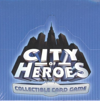 AEG City of Heroes Booster Box
