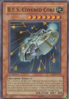 Yu-Gi-Oh Shadow Of Infinity 1st Edition B.E.S. Covered Core Super Rare