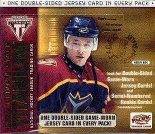 2001/02 Pacific Titanium Hockey Hobby Box