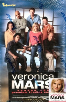 Veronica Mars Season One Trading Cards Hobby Box (2006 Inkworks)