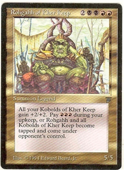 Magic the Gathering Legends Single Rohgahh of Kher Keep - SLIGHT PLAY (SP)