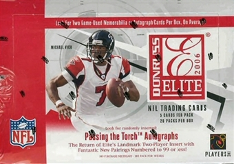 2006 Donruss Elite Football Hobby Box