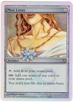 Magic the Gathering Unhinged Single Mox Lotus - NEAR MINT (NM)