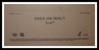2005/06 Upper Deck Ice Hockey Hobby 16-Box Case