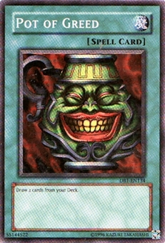 Yu-Gi-Oh Dark Beginning Single Pot Of Greed Super Rare