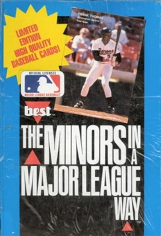 1990 Best The Minors in a Major League Way Baseball Wax Box