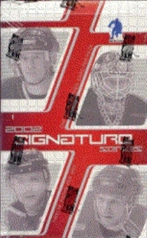 2001/02 Be A Player Signature Series Hockey Hobby Box