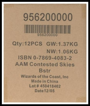 Axis & Allies Miniatures Contested Skies Booster Case (12 ct.)