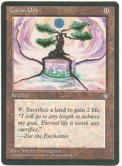 Magic the Gathering Ice Age Single Zuran Orb LIGHT PLAY (NM)