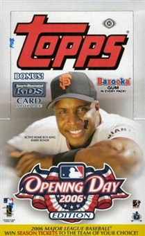 2006 Topps Opening Day Baseball Hobby Box