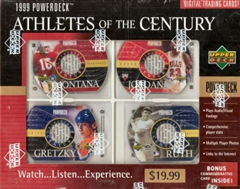 1999 Upper Deck PowerDeck Athletes of The Century Box