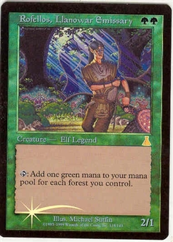 Magic the Gathering Urza's Destiny Single Rofellos, Llanowar Emissary Foil