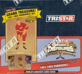 2005/06 TriStar World's Greatest Card Chase Hockey Hobby Box