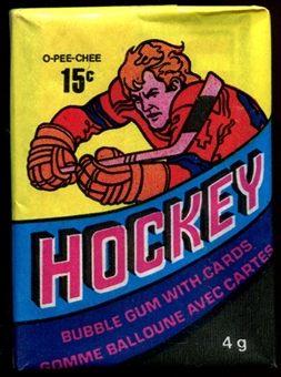 1978/79 O-Pee-Chee Hockey Wax Pack