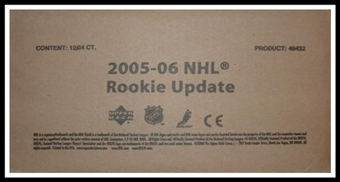 2005/06 Upper Deck Rookie Update Hockey Hobby 12-Box Case