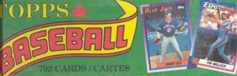 1990 Topps Baseball Factory Set (Box) (Green)